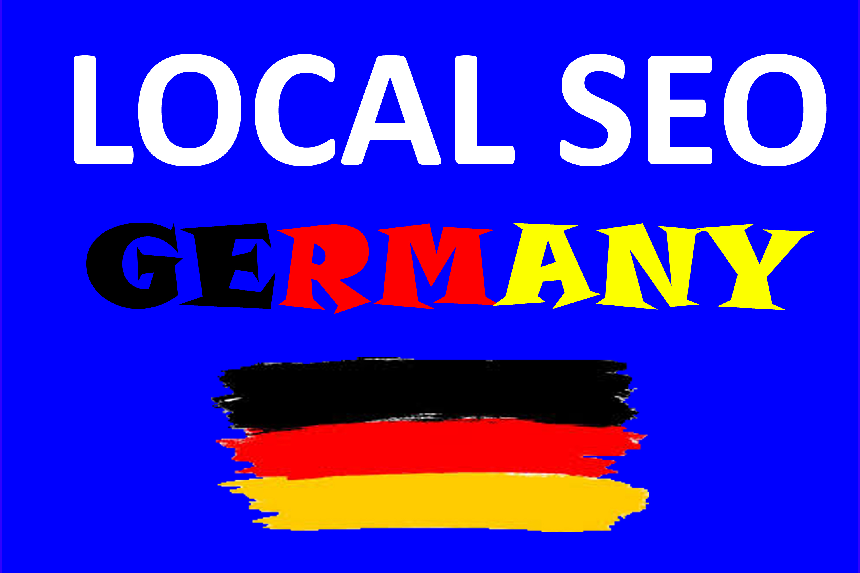 Create High Authority 30 top German local citations or local SEO business listing for your website