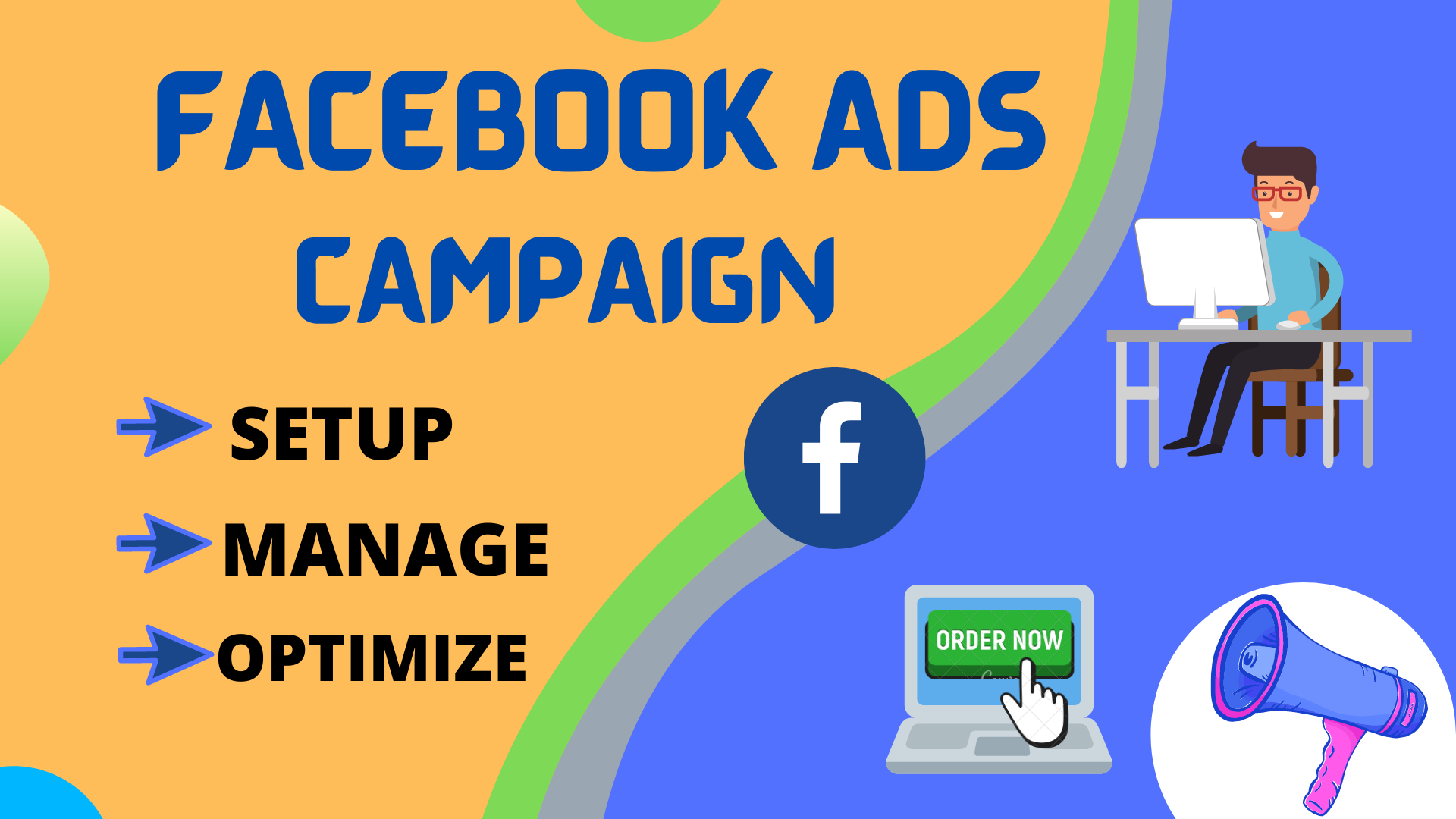 I will setup manage and optimize facebook ads campaign
