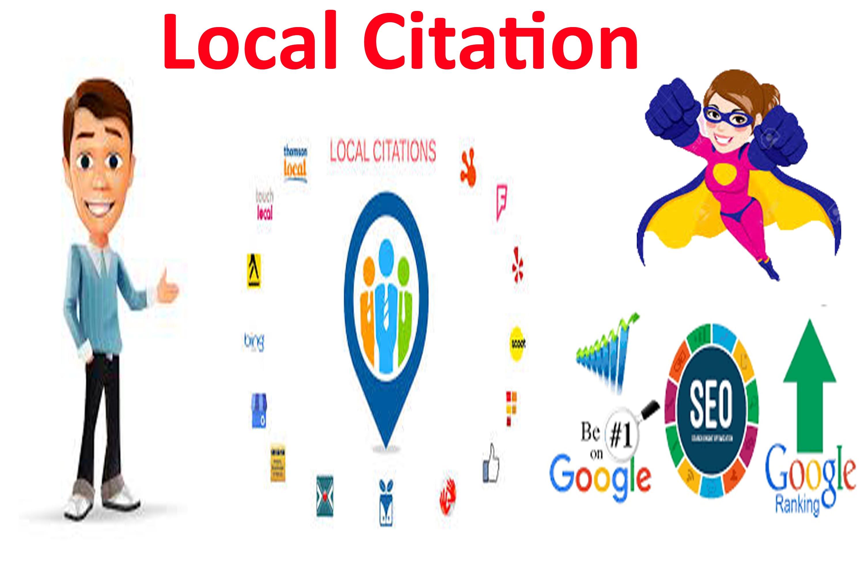 I will do Create High Authority Manually Local Citations