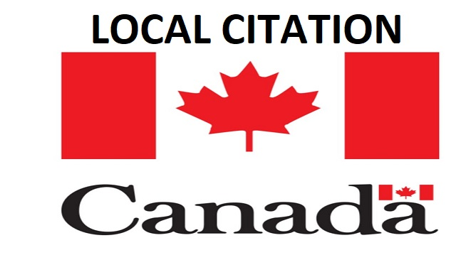 I will do top 50 Live Canada Local Citation or Local SEO
