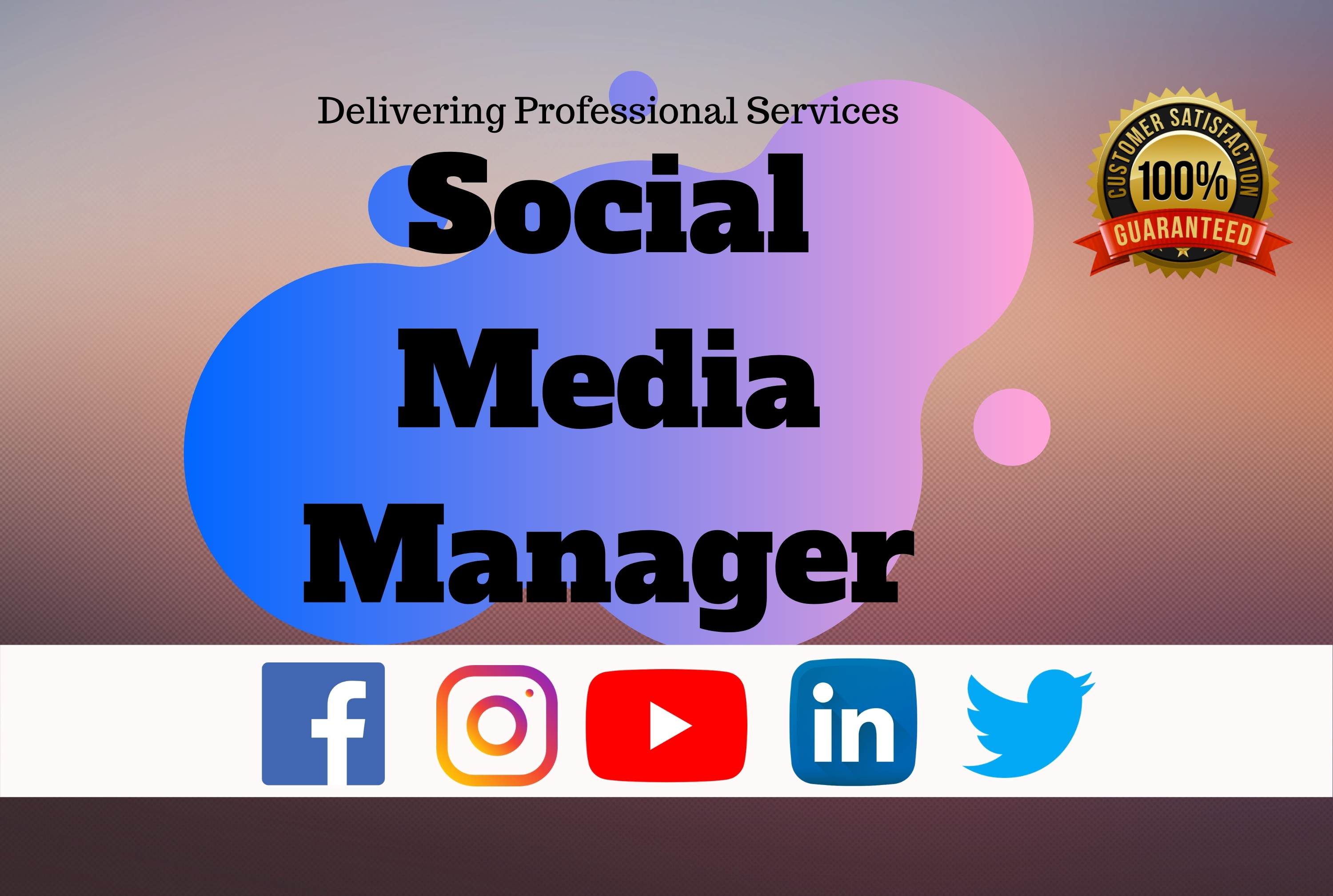 Your social media manager for 7 days