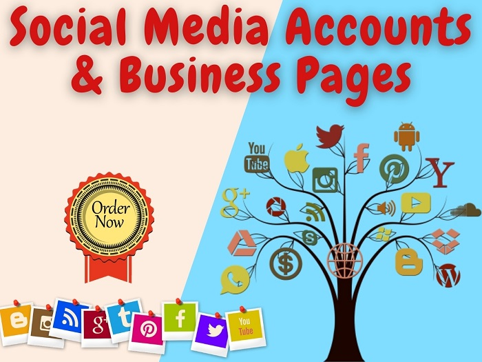 I will create and optimize one social media account or business page