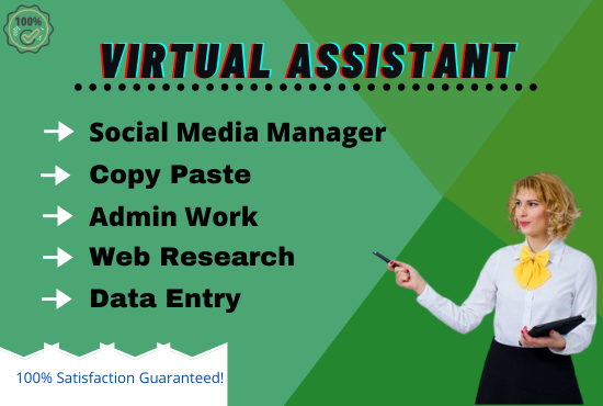 I will be your virtual assistant, helper and fast data entry, listing for your business