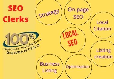I will do 500 live google map citation for local SEO