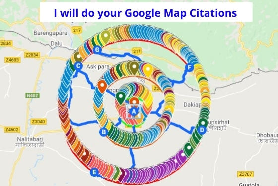 I will do 200 Google Map citations