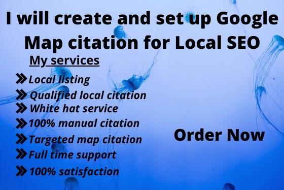 I will create 5000 and setup google map citation for local seo