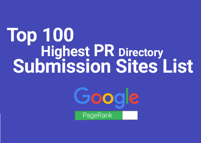 Manually Create 100 Niche Directory Submission Backlinks With High DA PA