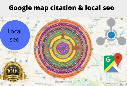 15000 Google Map Citation for Local SEO