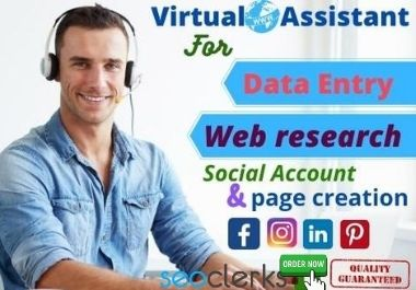 I will be your virtual assistant for professional and personal works