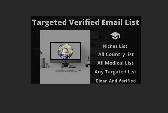 I will collect 5K verified targeted email address