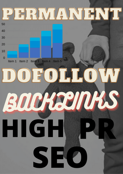 I Can do 60 permanent high pr SEO dofollow backlinks