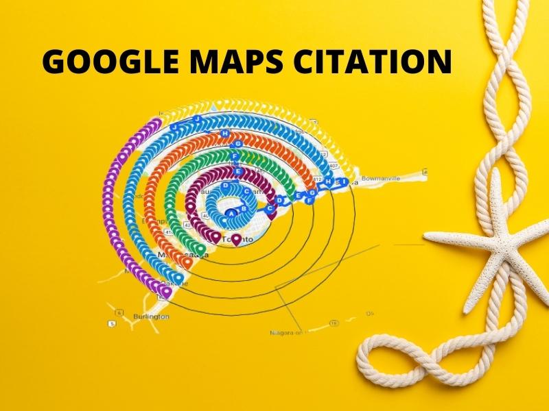 I will create 300 Google maps citations