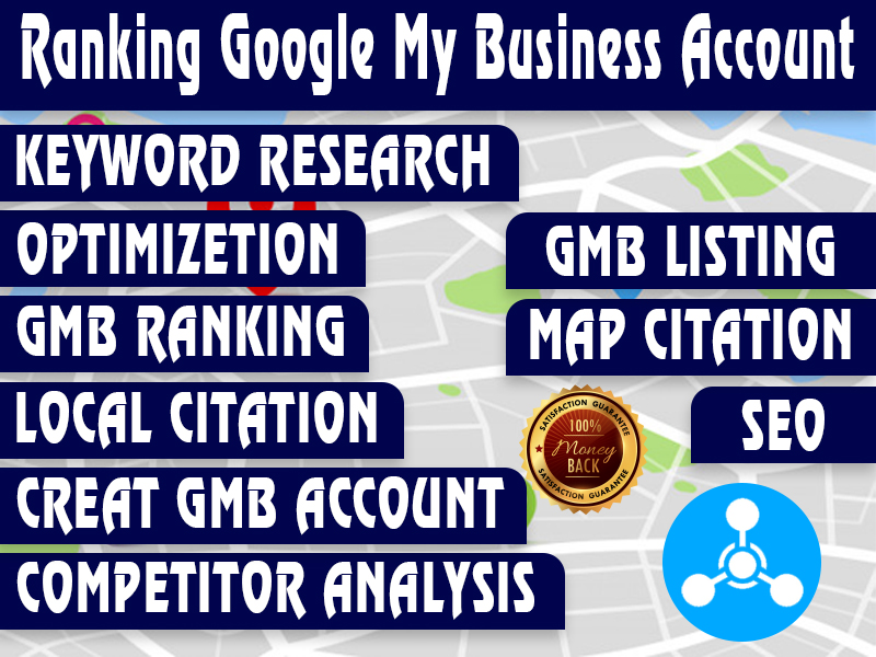 I will do rank, create and manage google my business