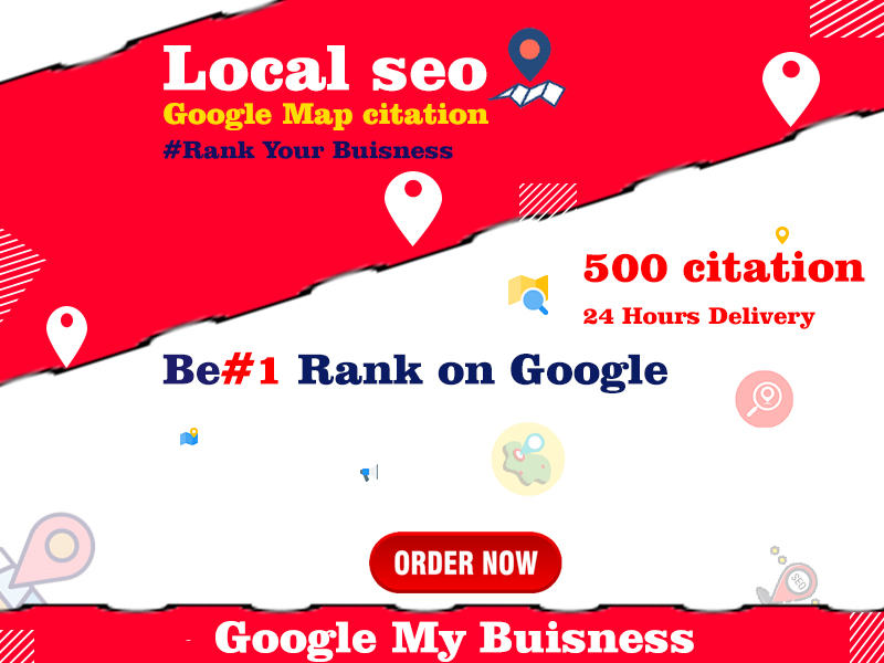 I will do google map citation by adding 500 pointer for local SEO of your business