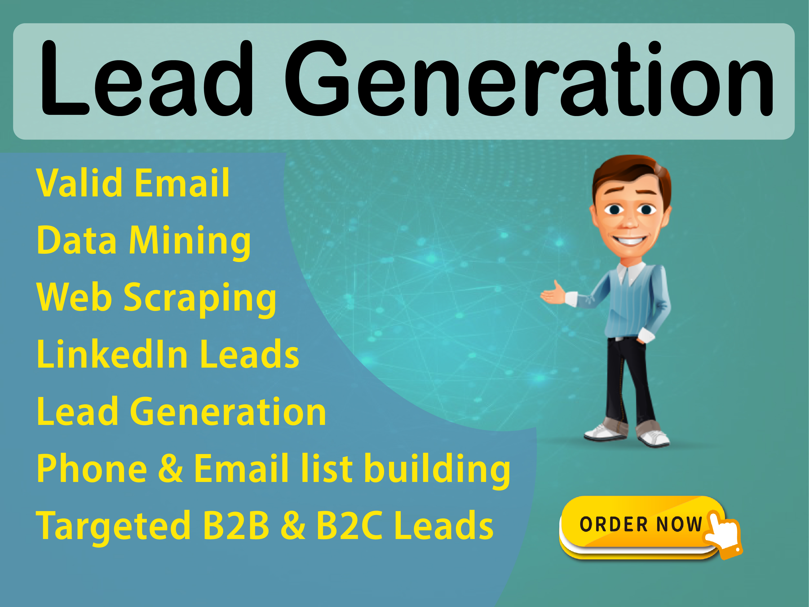 I will collect 10 Leads from different site on your niche base