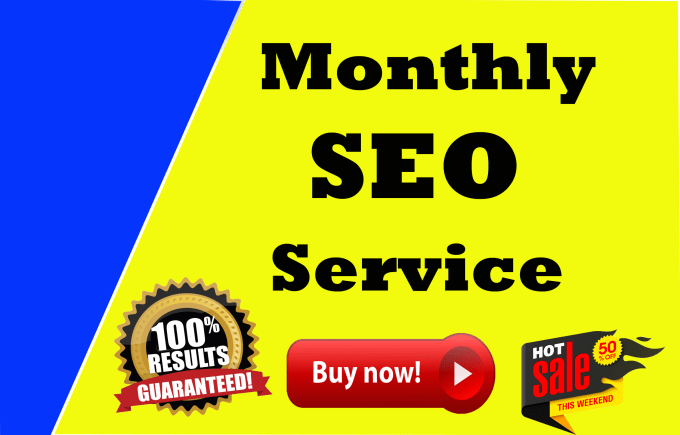 I Will do Best monthly SEO service high ranking in google