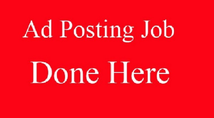 I will post your ads on top rank classified ad posting websites