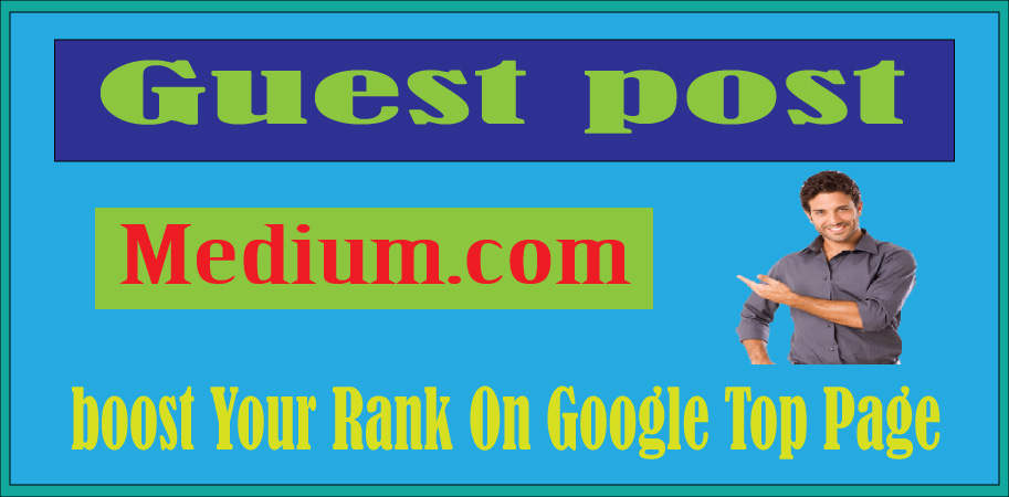 I Will Write and publish HQ guest post on Medium. Com DA-96