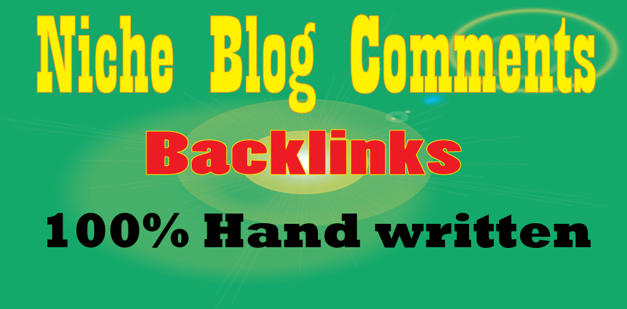 I will manually provide 50 niche blog comments backlinks