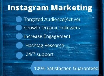 I will do Instagram marketing professionally for organic growth and engagement