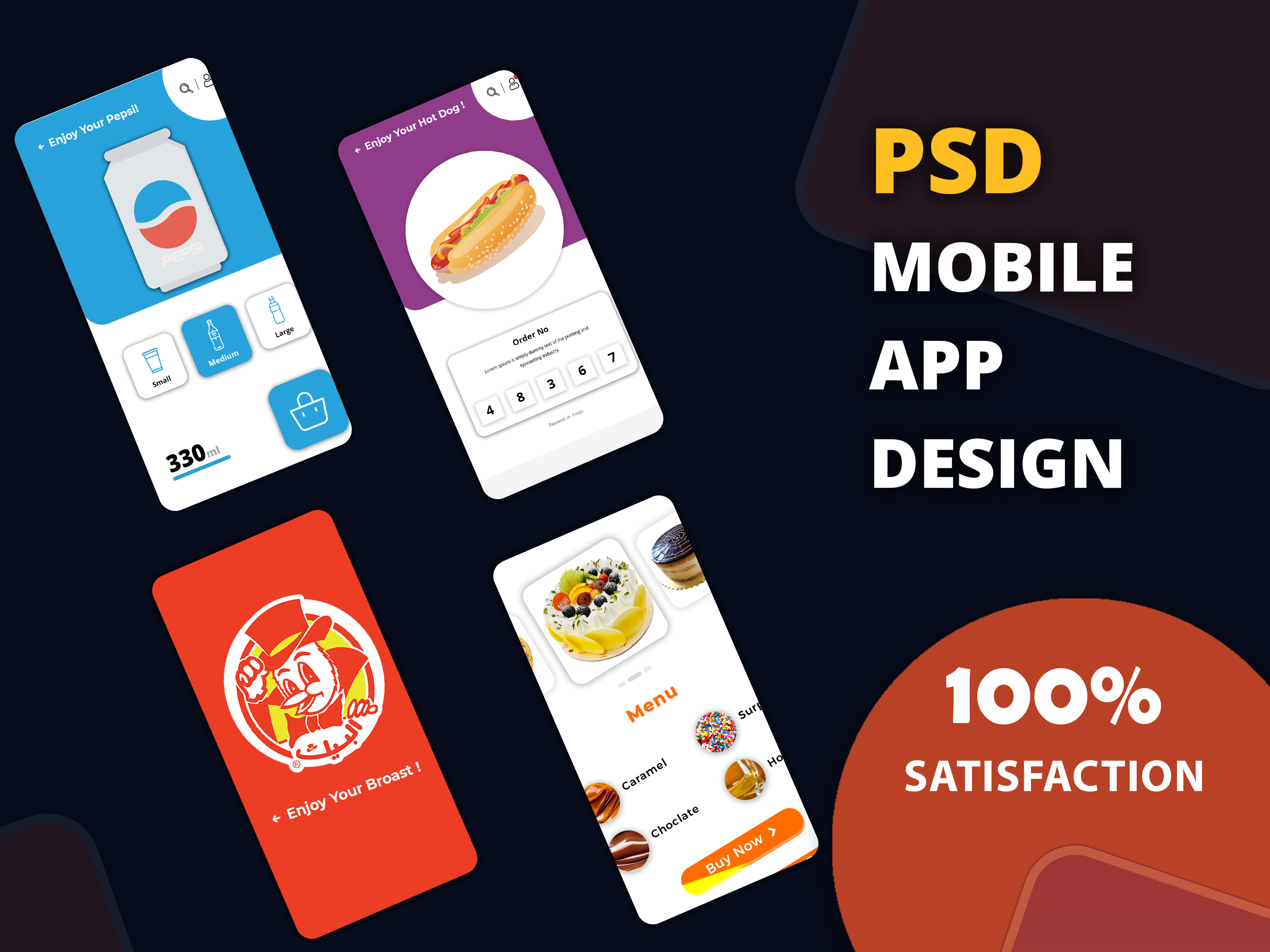 I Will design modern PSD mobile app UI, UX screen or app mockup