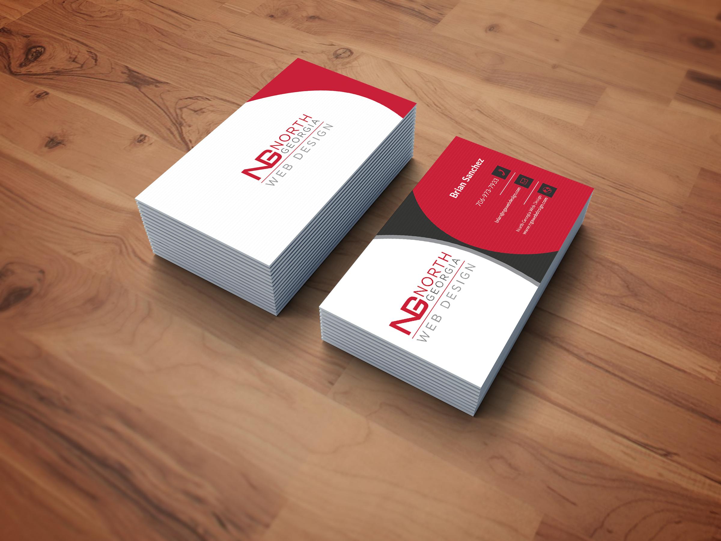 I will design a Modern business card