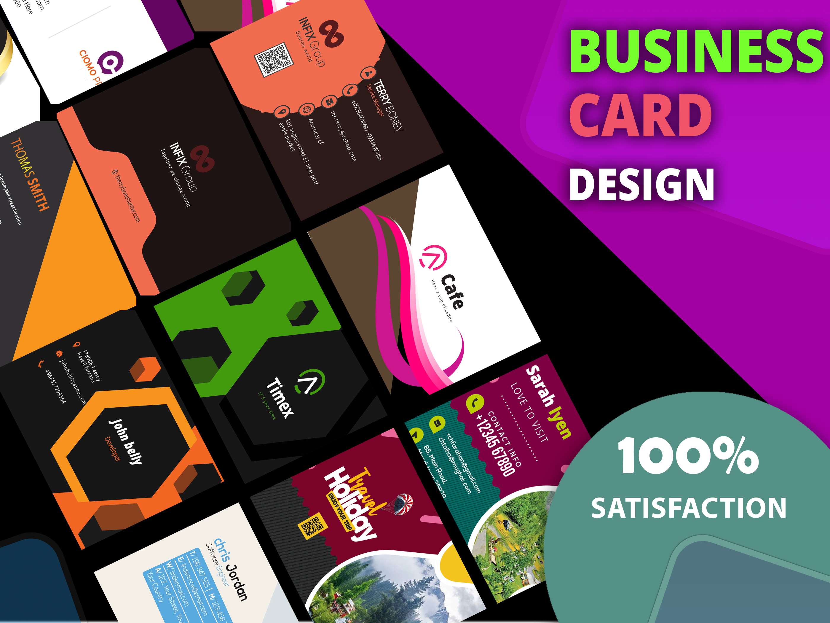 I will design an luxury creative and modern business card