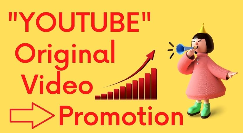 Original YouTube Video Promotion And Social Marketing By World Web User