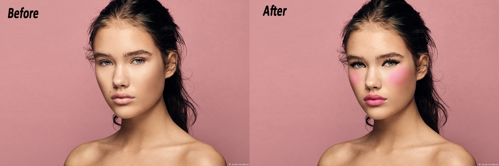 I will do photo-retouching using Photoshop fast