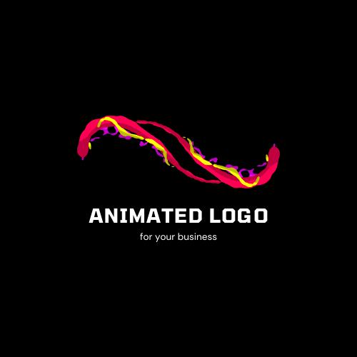 Animated,  creative and modern logo
