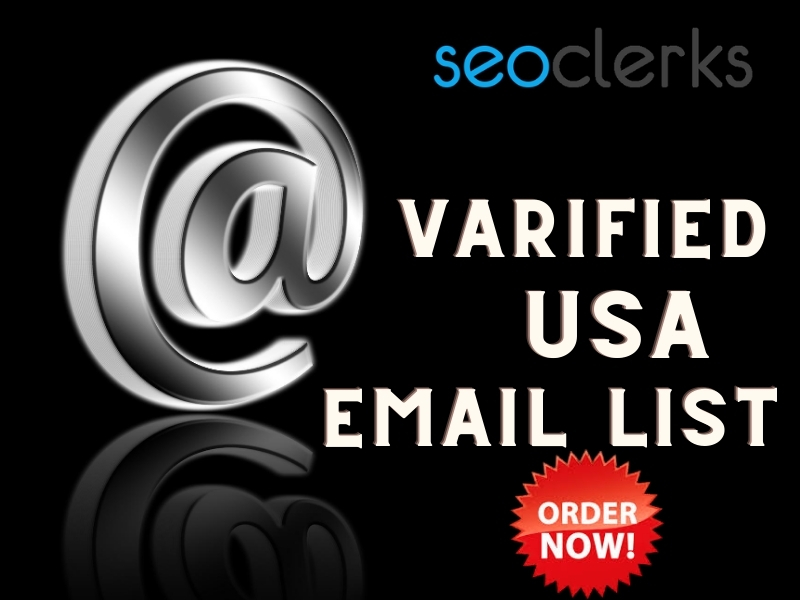 1K Varified Usa Niche Wise Email List for Marketing for your business