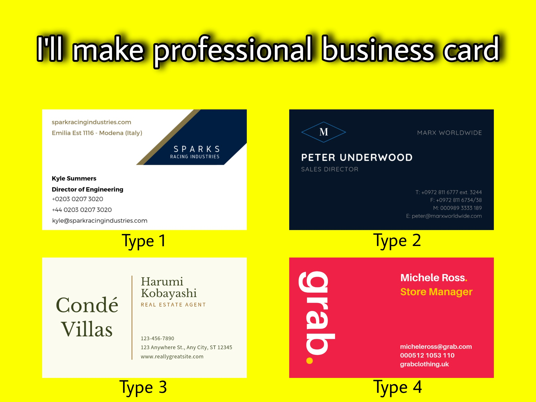 I'll make you business card at a cheap rate