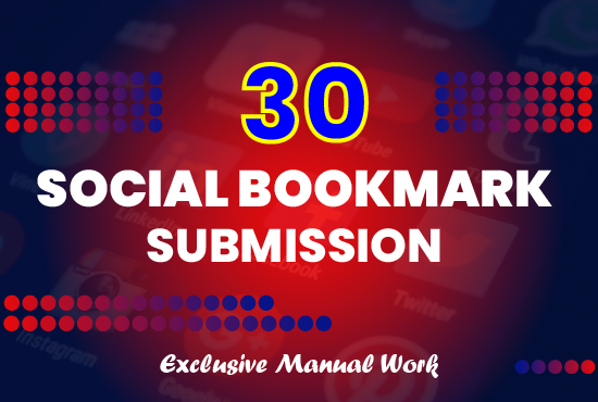 Complete SEO Pack with Manual Link Buildings Get 30 Social Bookmarks,  Check for extras