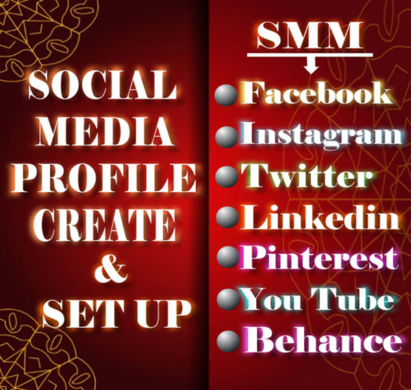 I will create and set up your social media Profile