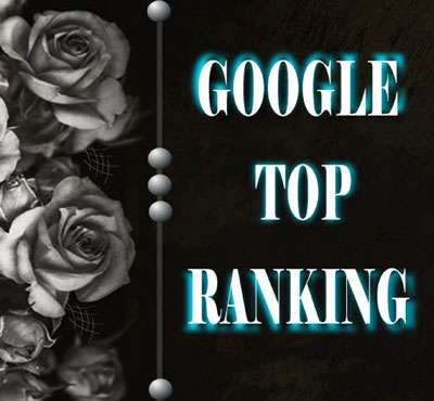 Google top ranking and optimization of your website with white Hat SEO