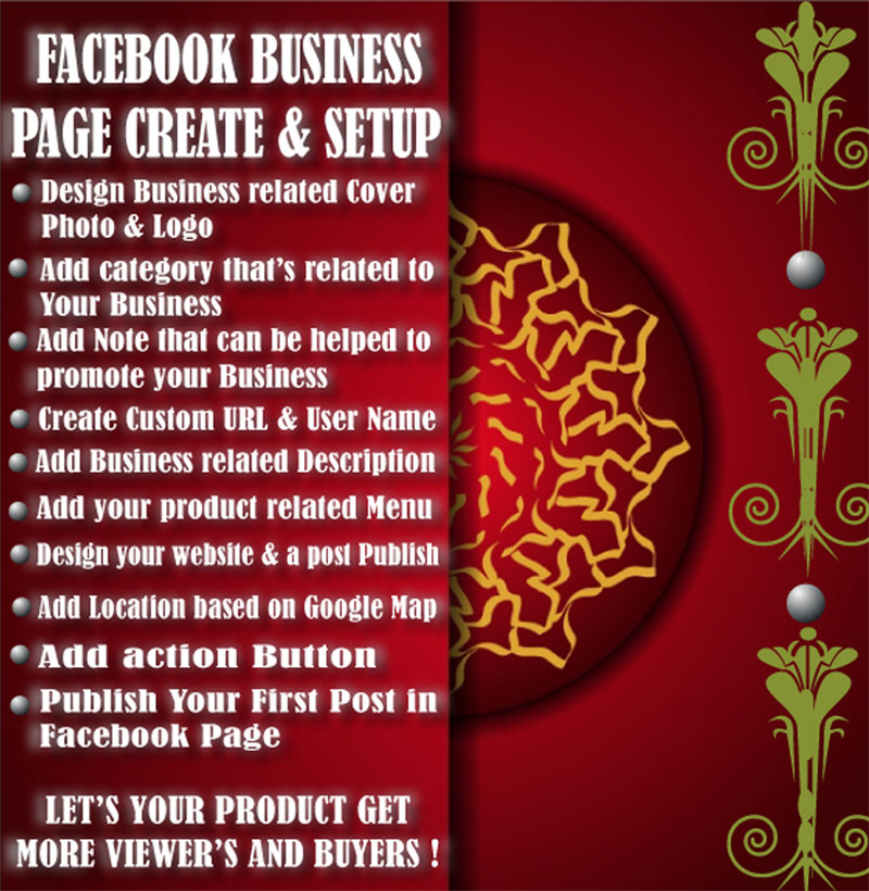 Facebook Business Page create and setup