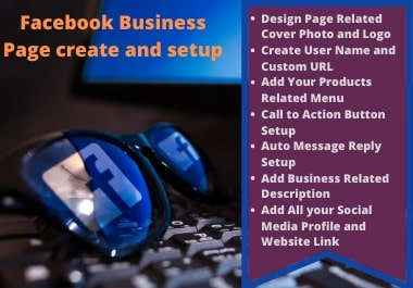 I will create,  Setup and optimize a social business page