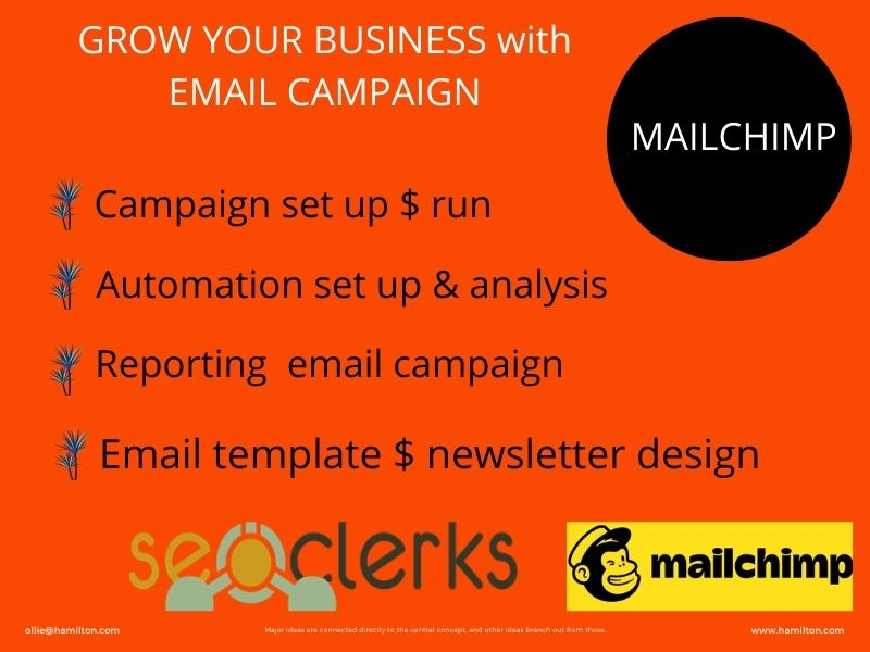 I will provide responding mailchimp campaign.