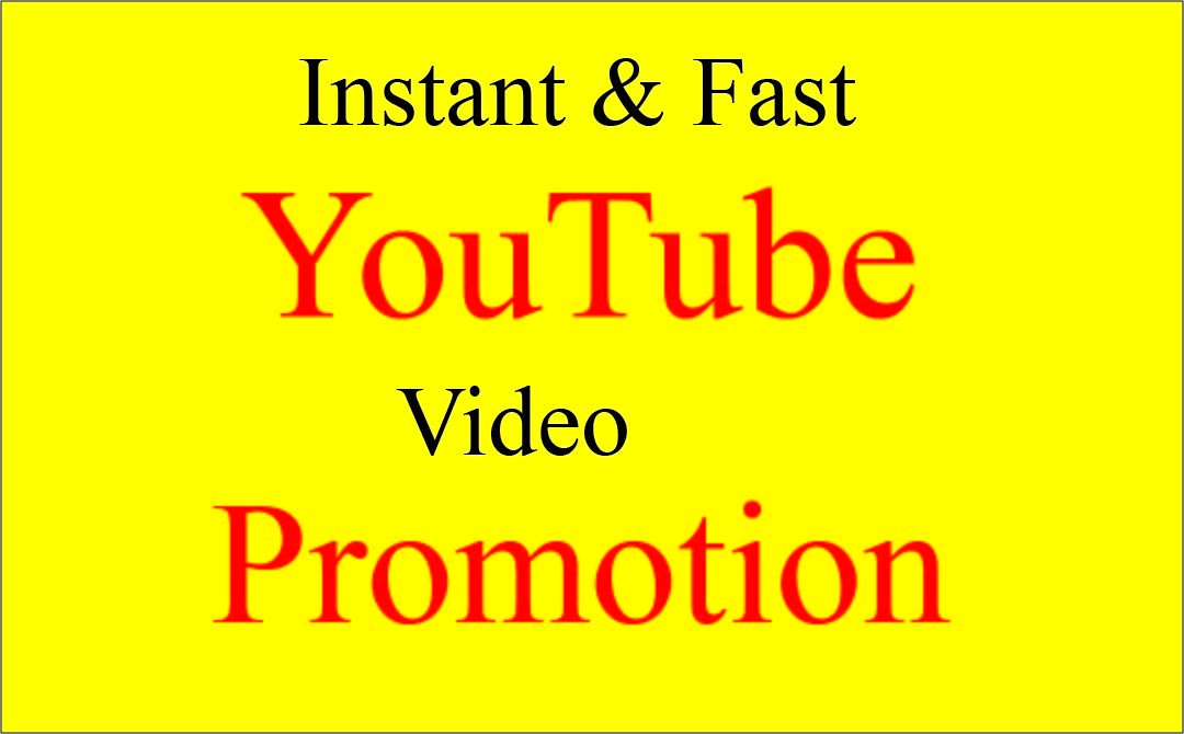 Get Super Fast Viral YouTube video promotion
