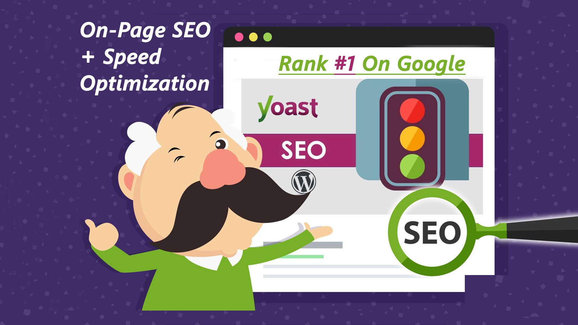 I will do complete yoast onpage SEO with site speed optimization