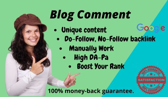 I will create blog comments or backlinks on related website