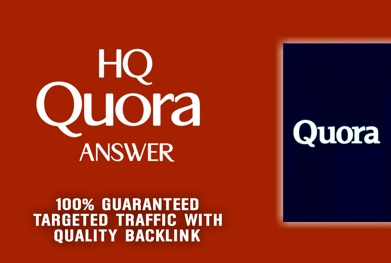10 Unique Quora Answers With Guaranteed Traffic