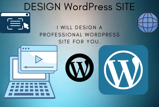 I will create a professional WordPress site