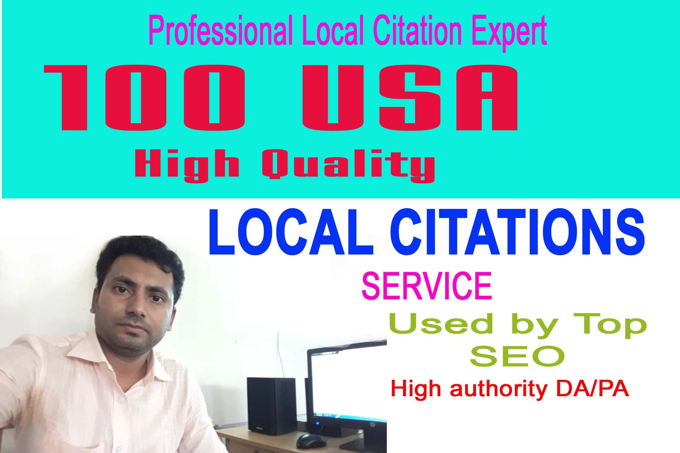 I will do Top 100 USA High Quality local citations SEO