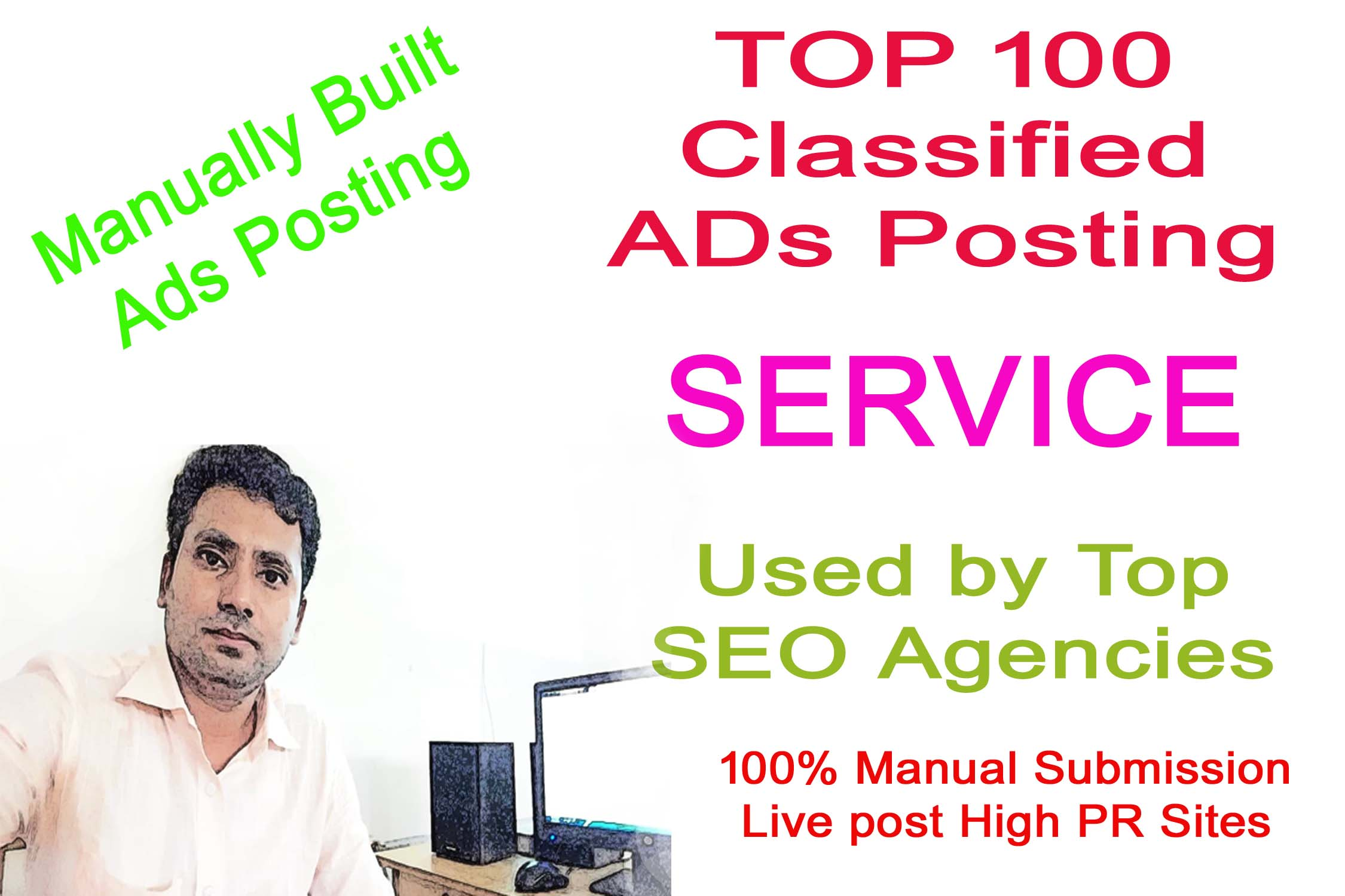 I Will Provide 100 Manual Classified Ads Posting for google rank