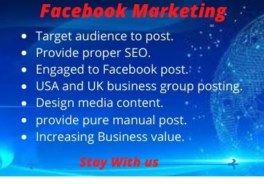 promote your business or Facebook page