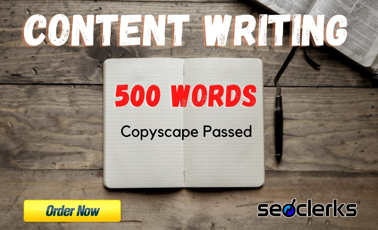 I will write a 500 Words quality article