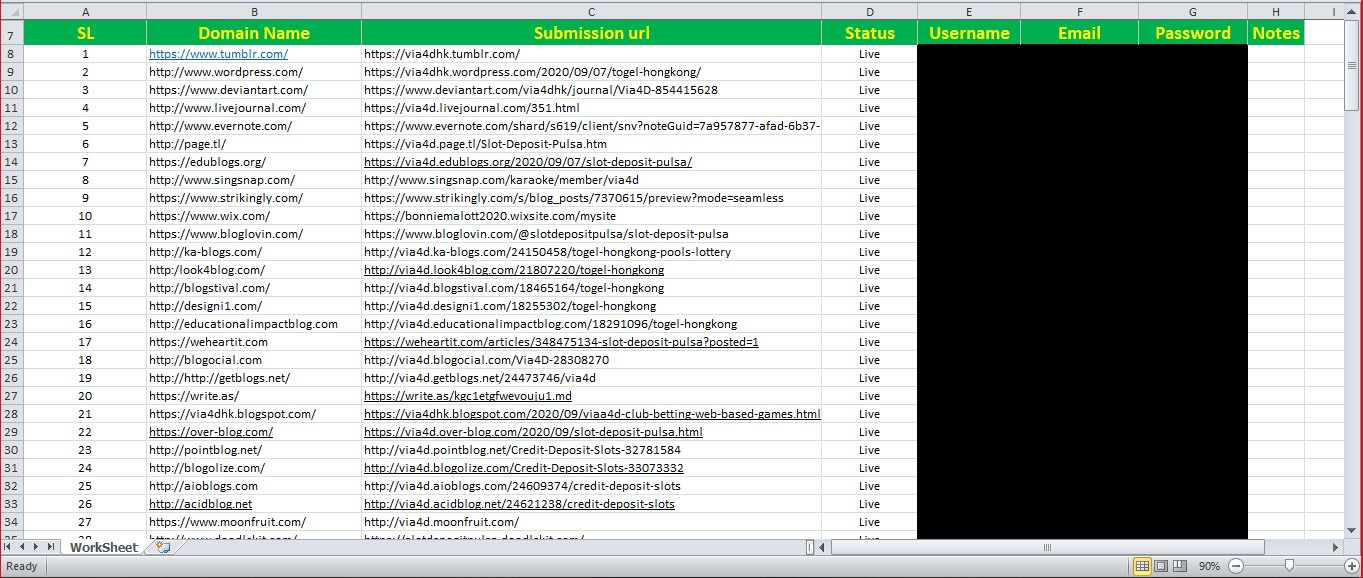 I will build 30 Dofollow High Domain Authority Web 2 0 Backlinks