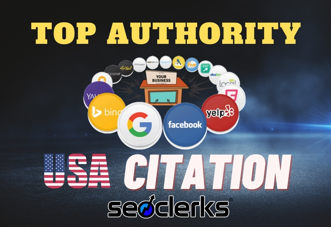 I will make manual high authority USA local citations