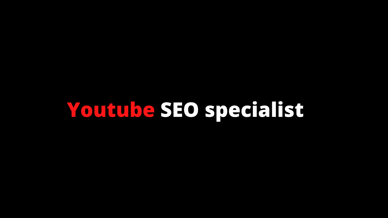 I will optimize your youtube and do SEO of your videos